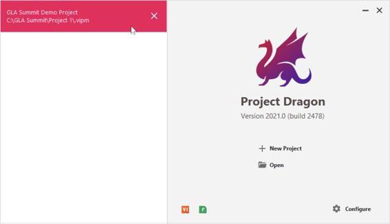 Project Dragon VIPM 2021