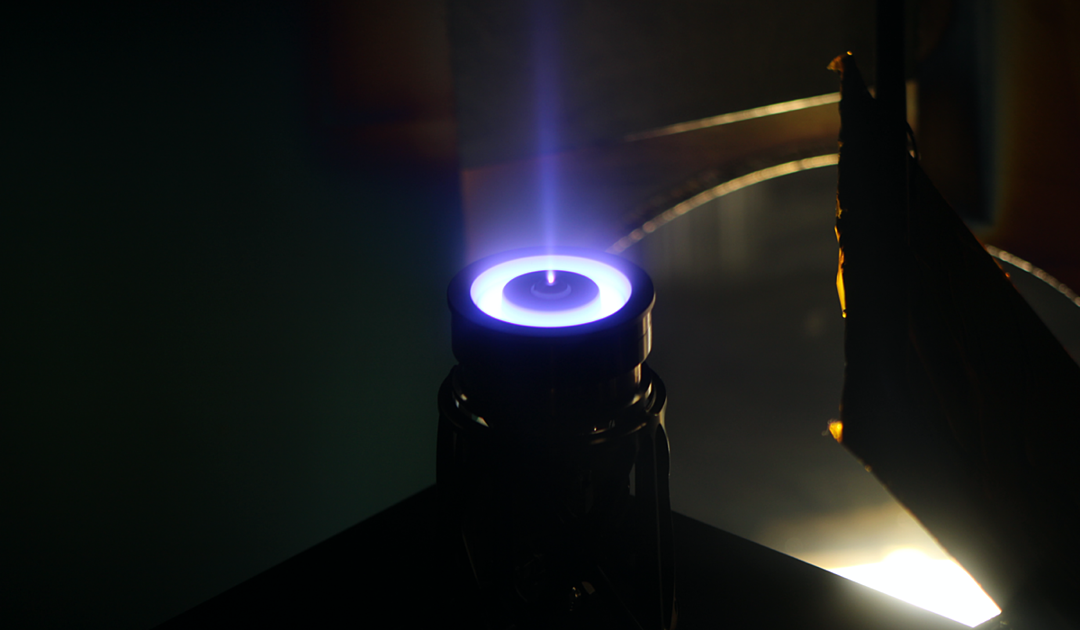 ACE Thruster Running With Krypton